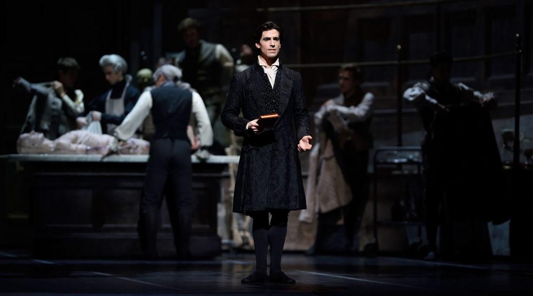 Joseph Walsh in Scarlett's Frankenstein